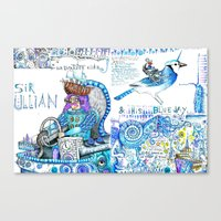 Sir Ullian Canvas Print