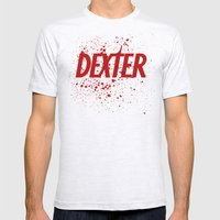Dexter#01 Mens Fitted Tee Ash Grey SMALL