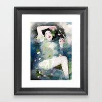 The Ondine Framed Art Print