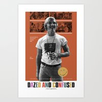 Dazed And Confused Movie… Art Print