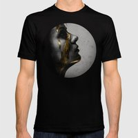 Dreams Mens Fitted Tee Black SMALL