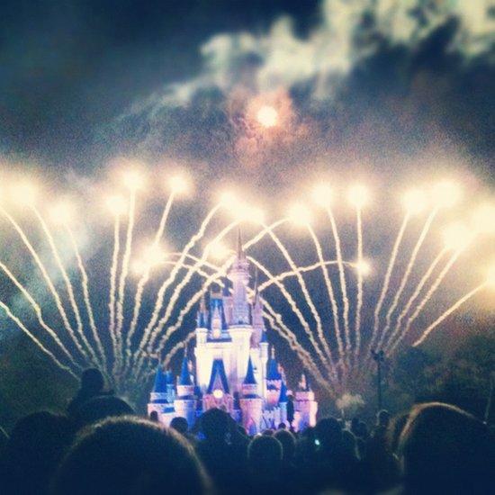 Disney World Art Print