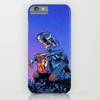 iPhone & iPod Case featuring WALL-E (Painting Style) by ElvisTR