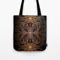Steampunk Engine Abstrac… Tote Bag