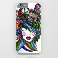 Paris girl iPhone 6 Slim Case