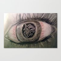 Migraine... Canvas Print