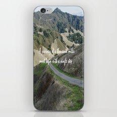 Thousand Miles iPhone & iPod Skin