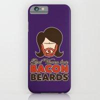 Bacon Beard (women's version) iPhone 6 Slim Case