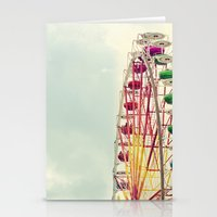 Ferris wheel Stationery Cards
