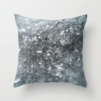 Ice Forever Throw Pillow