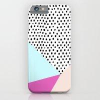 Polka dot rain geometric iPhone 6 Slim Case