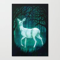 Subtle worlds Canvas Print