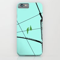 iPhone & iPod Case featuring Love Birds Geometry by RichCaspian