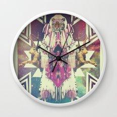 Tiger Chaman  Wall Clock