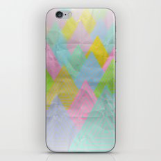 Acid Mountains iPhone & iPod Skin