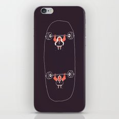 Heavyweight Skateboarding iPhone & iPod Skin