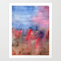 Vague Memory Art Print
