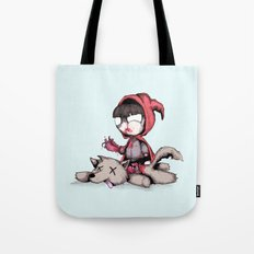 Bad Bitch Red Tote Bag