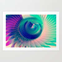 Abstract Wing Art Print