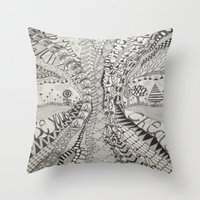 'Tangled Tree Throw Pillow