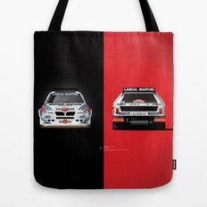 Group B Edition, N.º2, Lancia Delta S4 Tote Bag