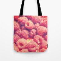 Raspberries Tote Bag