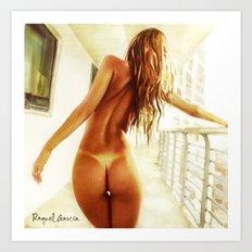 Back Art Print