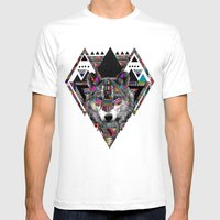 SPIRIT OF MOTION Mens Fitted Tee White SMALL