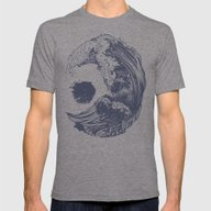 Swell Mens Fitted Tee Tri-Grey MEDIUM