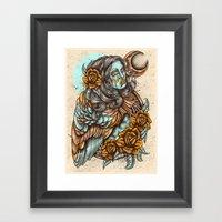 Harpie Framed Art Print