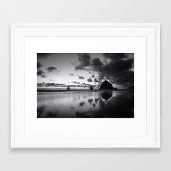 Racing Sky Framed Art Print
