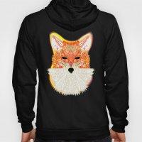 Fox in Blue Hoody