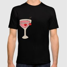 Alcohol_03 Black Mens Fitted Tee SMALL
