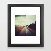 Two Into One Framed Art Print