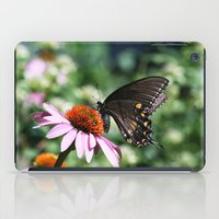Eastern Tiger Swallowtail - Black Morph iPad Case