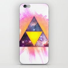 Cosmic Triforce iPhone & iPod Skin
