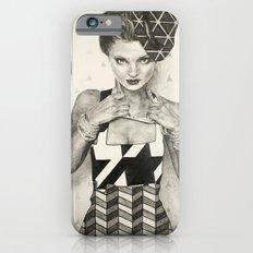 Pattern Girl iPhone 6 Slim Case