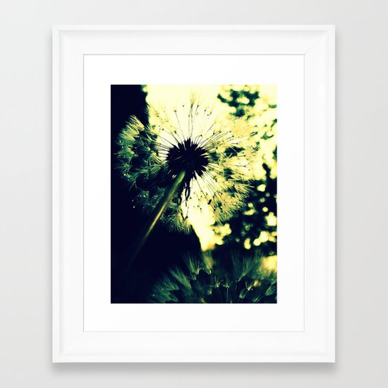 Droplets Framed Art Print