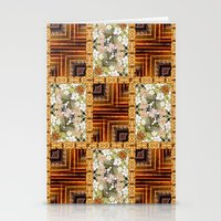 Oriental Quilt Stationery Cards
