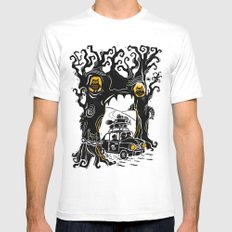 Trip to Enchanted Forest Mens Fitted Tee White SMALL