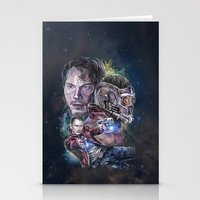 Star Lord - Galaxy Guardian Stationery Cards