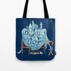 The Perfect Chair Fort Tote Bag