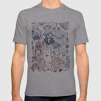 The Storm Brings a New Sight to Sea Mens Fitted Tee Athletic Grey SMALL