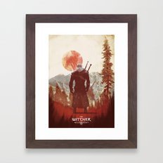 Witcher 3 wild hunt  Framed Art Print
