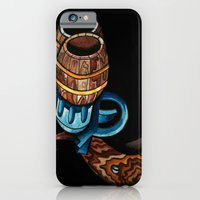 iPhone & iPod Case featuring Black Double Barrell by Brian J Farrell