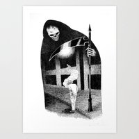 Dead of Night Art Print