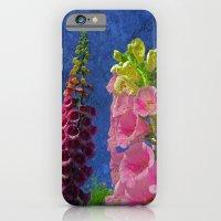Two Foxglove Flowers W… iPhone 6 Slim Case