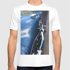 A 51 OK SMALL Mens Fitted Tee White
