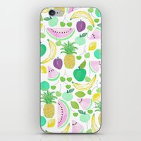 Fruit Punch Retro 2 iPhone & iPod Skin