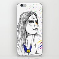 Colored Imagination iPhone & iPod Skin